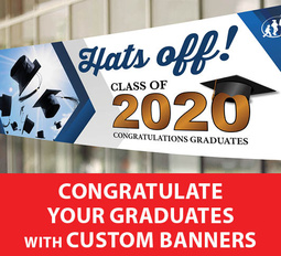 graduation banners and signs