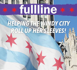 Helping the windy city roll up her sleeves!